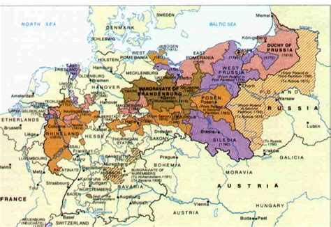 map of germany today berger family history