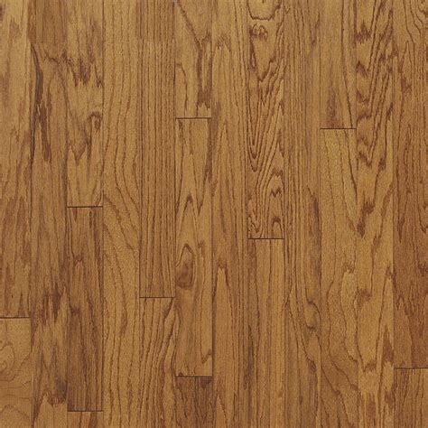shop bruce 0 375 in oak engineered hardwood flooring sle butterscotch at lowes com