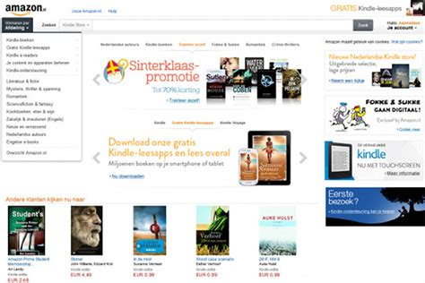 amazon netherlands amazon brings kindle store to the netherlands the ebook