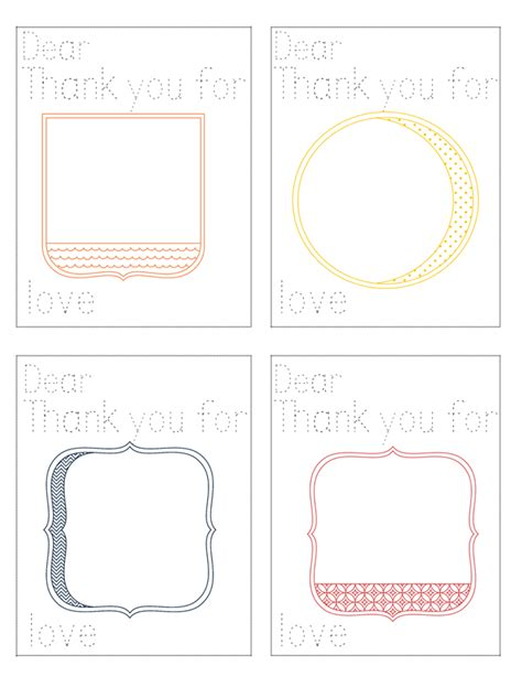 Thank You Letter Printable Free Printable Thank You Notes For Children Jessicalynette