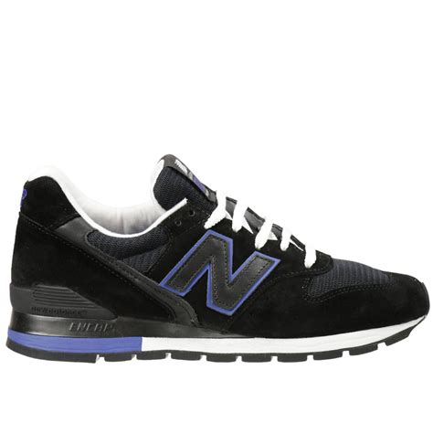 black sneakers new balance s sneakers in black for lyst
