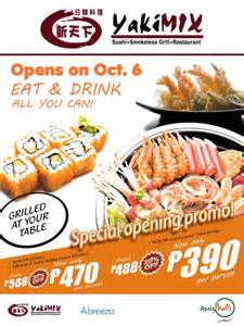 Filipino Comfort Food Yakimix Abreeza Opens Eat And Drink All You Can