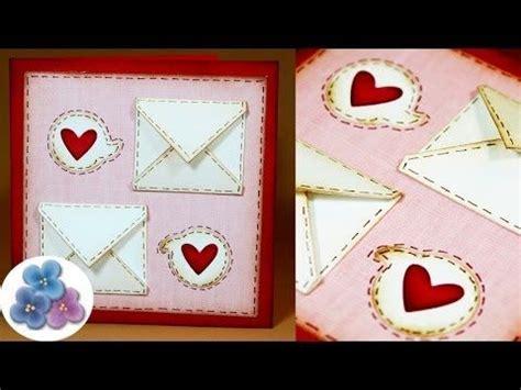 tutorial para hacer tarjetas scrapbook como hacer tarjetas de amor para san valentin diy card