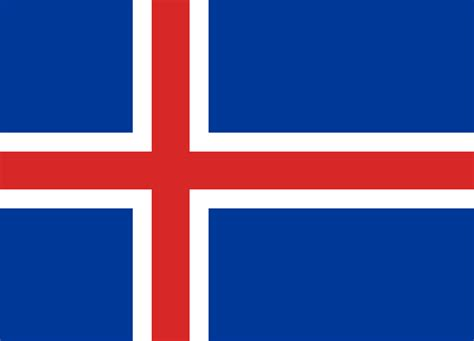 iceland flag colors meaning symbolism of icelandi flag