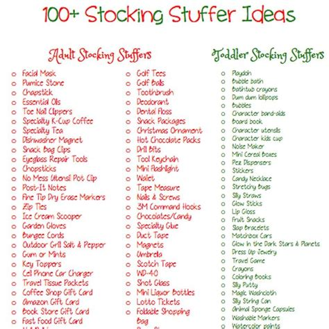 stocking stuffers ideas easy useful stocking stuffer ideas for adults santa s coming pinterest stockings