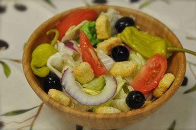 1 serving of olive garden salad top secret salads