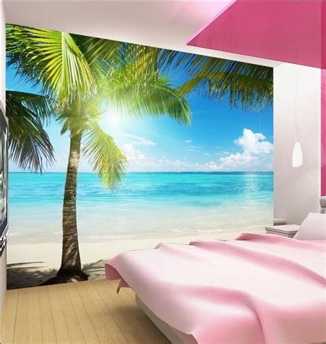 beach murals for bedrooms image gallery landscape wallpapers for walls