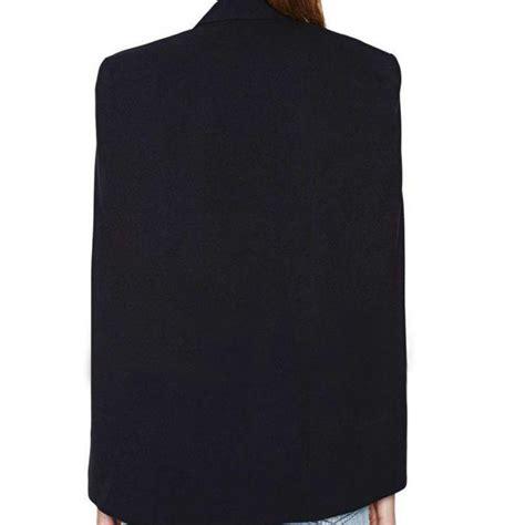 Promo Cape Blazer Jaket Wanita Jk402 discount fashion casual s blazers sleeve