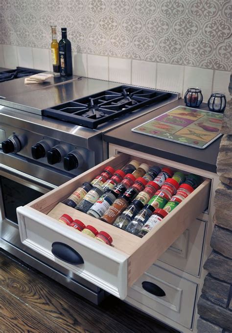 Spice Organizers For Drawers by Spice Drawer Kitchen Storage Organizing