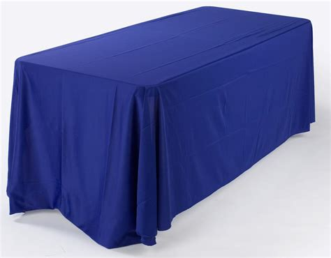 Royal Blue Table Covers by 6 Ft Royal Blue Table Cover Adds To The Overall Showcase Appearance