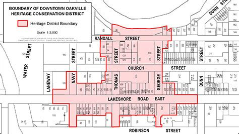 downtown oakville heritage conservation district study