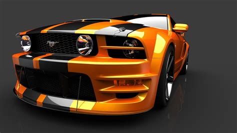 orange cars mustang car background hd wallpapers 8716 amazing wallpaperz