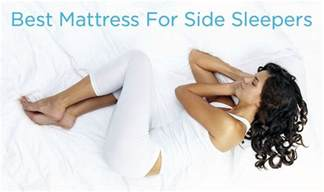 5 best mattress for side sleeper for back relief