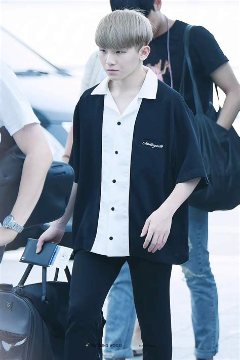 kpop themed costume k pop idol with fabulous airport fashion seventeen woozi