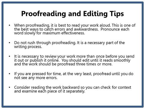 7 Tips On Being An Editor grammar chic inc proofreading and editing tips for