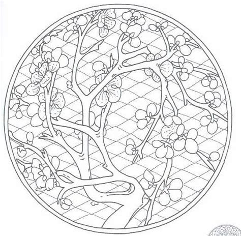Chinese Mandala Coloring Pages | free coloring pages of chinese mandala