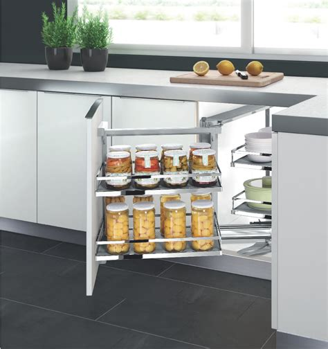 magic corner kitchen cabinet magic corner series soft close left open 041