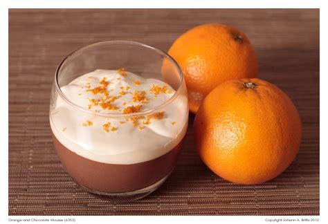 chocolate orange instant chocolate and orange mousse recipe from