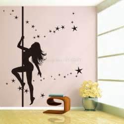 girls wall art stickers new design dancing girl wall sticker large size wall