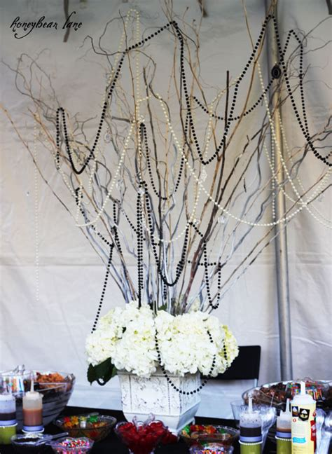 make a dramatic centerpiece with branches honeybear lane