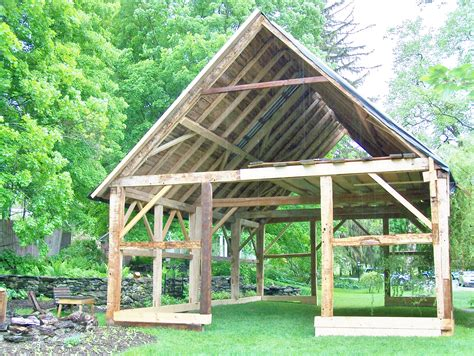 a frame roof barn homes green mountain timber frames middletown