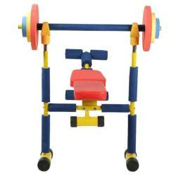 weight bench set for kids fun and fitness kid s weight bench set free shipping