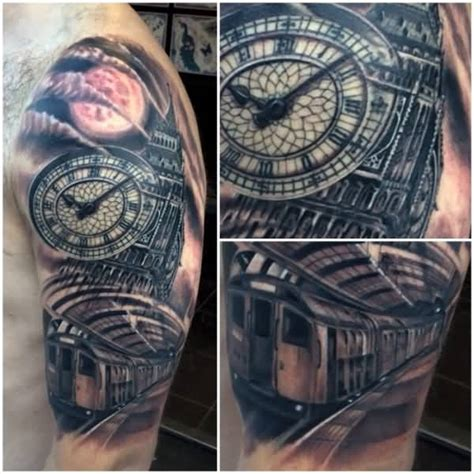 tattoo london road south 20 awesome big ben sleeve tattoos