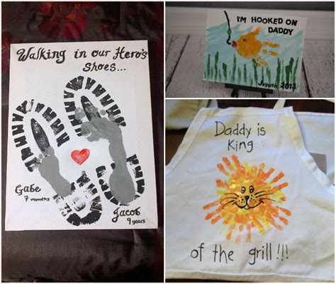 fathers day footprint s day handprint and footprint crafts for