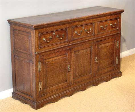 Georgian oak dresser / Antique oak sideboard : Antique