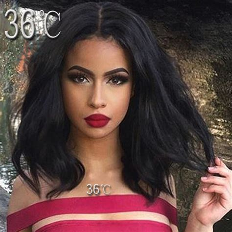 lace front wigs for black women short human hair lace front wigs black women short bob