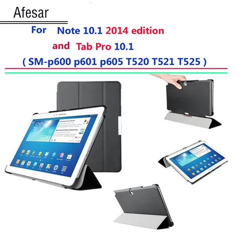 sketchbook pro galaxy note 10 1 afesar p600 p601 t520 521 ultra slim cover for samsung