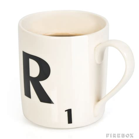 scrabble letter mug scrabble mugs buy at firebox