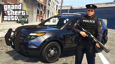 mod gta 5 cop gta 5 mods play as a cop mod gta 5 best cop ever