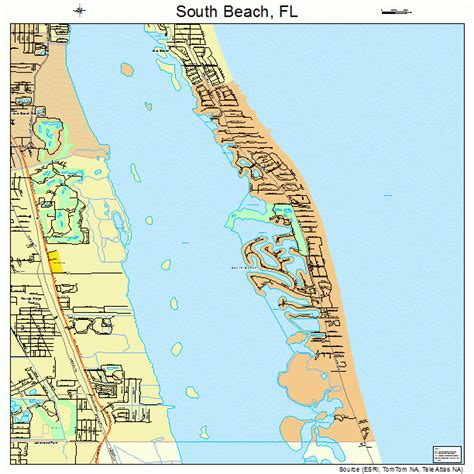florida map beaches south florida map 1267192