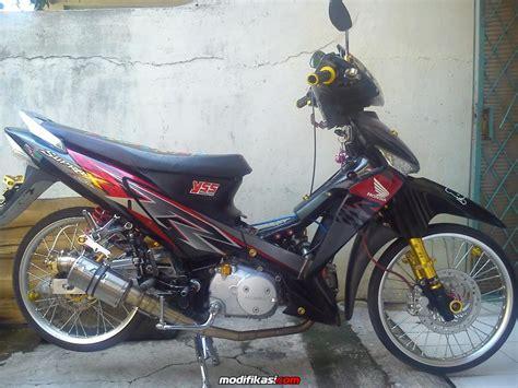 Modifikasi Supra X 125 Ban Kecil by 100 Modifikasi Motor Honda Supra X 125 Injection Terbaik
