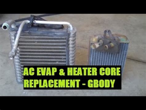 how to remove and replace ac evaporatore core on a 2005 maserati quattroporte how to replace heater core and ac evaporator classic gbody