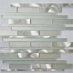 silver glass tile backsplash white and silver interlocking metal glass mosaic tile kitchen backsplash mosaic tile bathroom