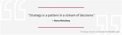 pattern definition business strategy quotes strategy is a pattern in a stream of