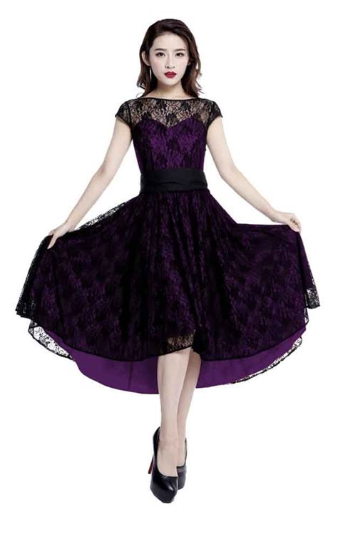 purple swing dress chic star purple lace swing dress