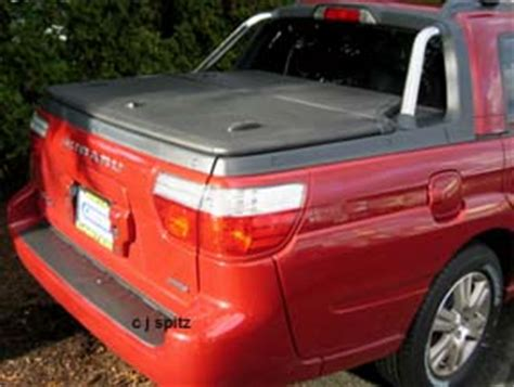 subaru baja bed cover 2006 and 2005 subaru baja photographs and images