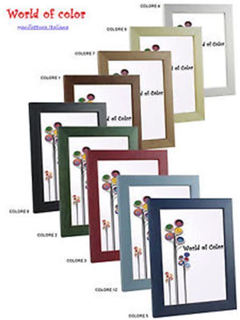 cornici 40x60 cornici legno 760 porta foto da muro colorata bianco nero