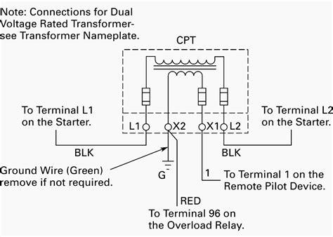 wiring of power transformer for motor