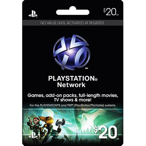 Playstation 3 Network Gift Card - playstation network card 20 ps3 accessories walmart com