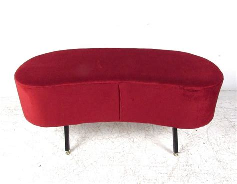 Kidney Blood In Stool by Mid Century Style Kidney Shaped Ottoman Or Stool For Sale