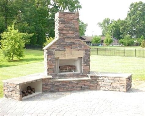 inspirational outdoor fireplace and grill and outdoor