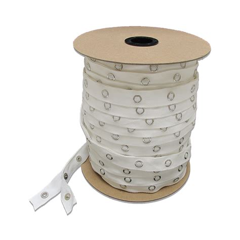 snap tape for curtains white snap tape snapped 72 yds rolls drapery supplies