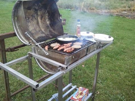 How To Build Your Own No Weld Drum Bbq Smoker Your Projects Obn How To Make Your Own Keg Bbq Barrel Without Welding