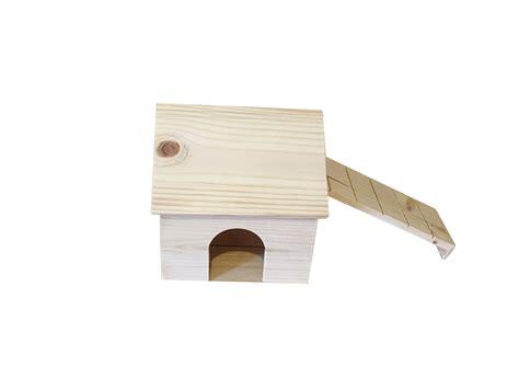 hamster house hamster wood house