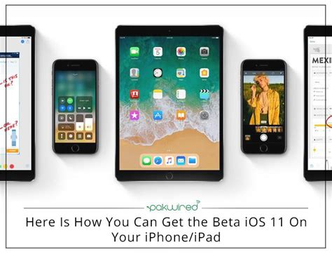 free goodies here is how you can get the beta ios 11 on