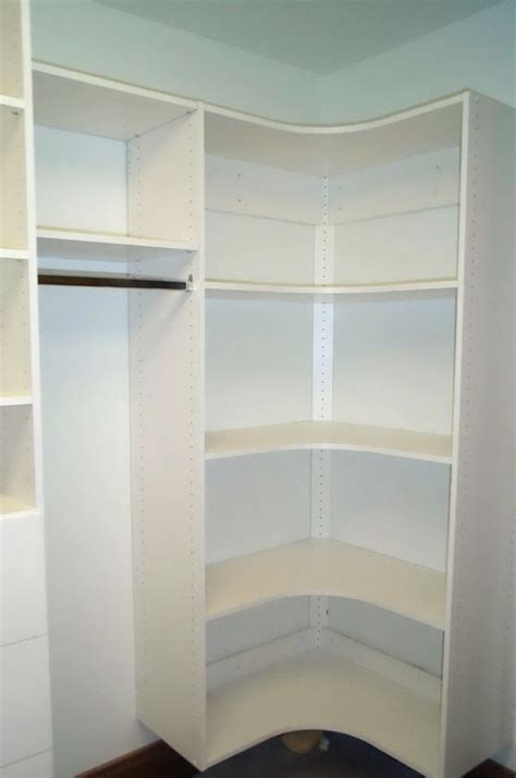 walk in closet corner shelves search walk in